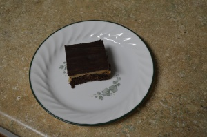 Peanut Butter Truffle Brownies