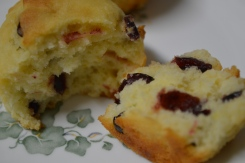 Cream Cheese Cranberry Muffins 2