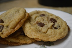 Crispy, Chewy Chocolate Chip Cookies 2