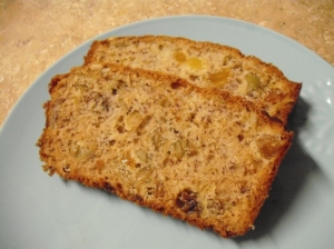 Roast Banana-Pumpkin Breakfast Bread