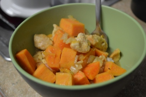 Chicken with Sweet Potatoes 3