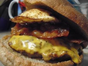 Bacon & Egg Burger 3