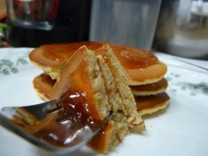 Peanut Butter Pancakes 3