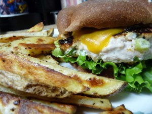 Sour Cream and Onion Burger