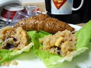 Honey-Soaked Quinoa Salad 2