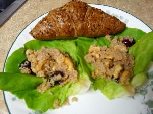 Honey-Soaked Quinoa Salad