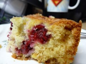 Raspberry Buttermilk Cake 2