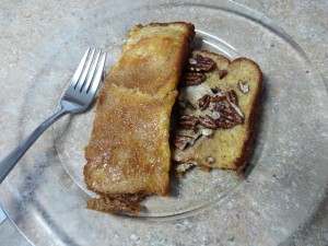 Baked Orange Pecan French Toast