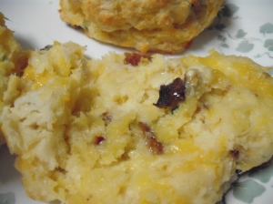 Cheddar, Bacon, and Chive Biscuits 2