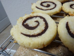 Chewy Coconut-Chocolate Pinwheels 2