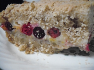 Cranberry Orange Cream Cheese Crumb Bars 2