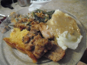 2013 Thanksgiving Plate - Kevin's