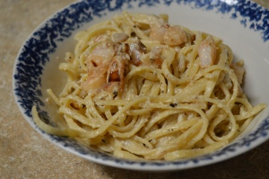 Shrimp Linguine Alfredo 2