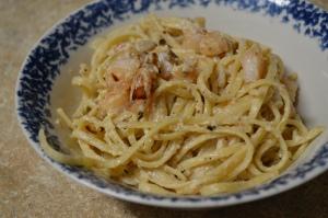 Shrimp Linguine Alfredo 2