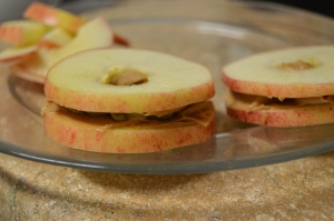 Apple-Peanut Butter Sandwich
