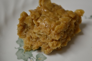 Peanut Butter Oatmeal Bars 2