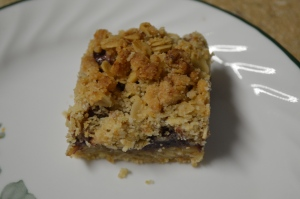 Raspberry Granola Bar