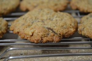 Choco-Chip Oatmeal Cookies 2