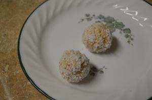 Key Lime Coconut Snowballs