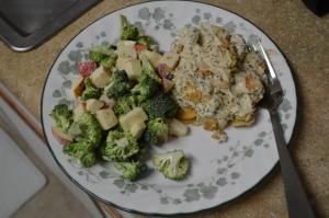 Waldorf Salad with Broccoli