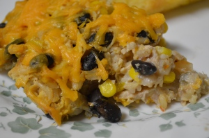 Southwest Chicken Burrito Bake 2
