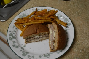 Buffalo Wing Burger