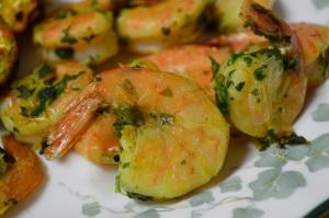 Cilantro-Lemon Shrimp 2