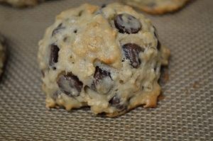 Banana-Oat Chocolate Chip Cookies 2