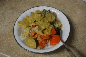Coconut Curry Chicken I