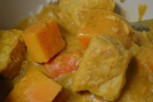 Slow Cooker Pumpkin Coconut Curry 2
