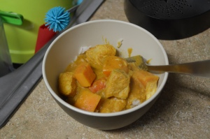 Slow Cooker Pumpkin Coconut Curry