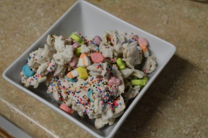Lucky Rainbow Chex Mix