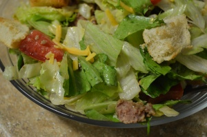 Deluxe Cheeseburger Salad 2