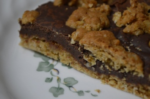 Fudgy Oatmeal Bars 3