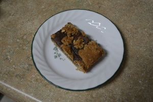 Fudgy Oatmeal Bars