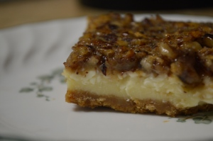 Hazelnut Pecan Cheesecake Bars 3