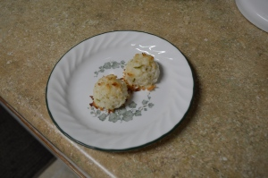 One Bowl Coconut Macaroons