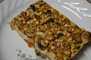 Chewy Almond Butter Power Bars 2