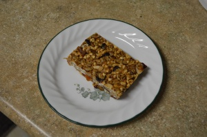 Chewy Almond Butter Power Bars