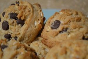 Gooey S'mores Cookies 3