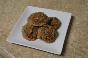 Peach Pie Oatmeal Cookies