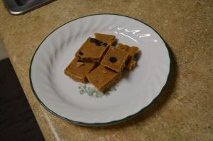 Peanut Butter Freezer Fudge