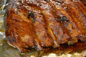 Barbecued Ginger Ale Pork Ribs 2