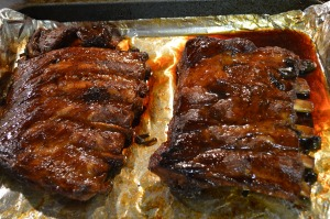 Barbecued Ginger Ale Pork Ribs 3
