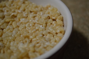 Rice Krispies Treats for One 2