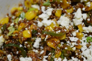 Summer Grilled Mexican Street Corn Quinoa Salad 3