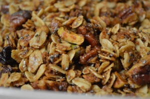 Coconut Oil Granola 2