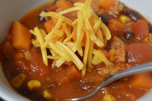 Slow Cooker Sweet Potato Chili 2