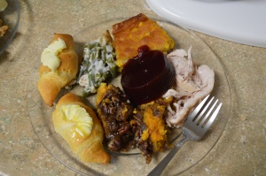 2015 Thanksgiving Plate - Mine