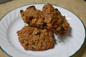 Apple Raisin Oatmeal Breakfast Cookies 2